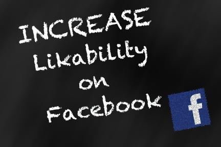 increase likability on facebook